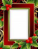 Постер, плакат: Рождественские кадр с Холли