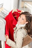 stock photo of trench coat  - Shopping - JPG