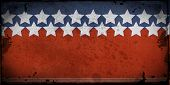 picture of usa flag  - Retro style framed  background with space for your text  - JPG