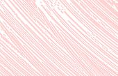Grunge Texture. Distress Pink Rough Trace. Glamorous Background. Noise Dirty Grunge Texture. Immacul poster