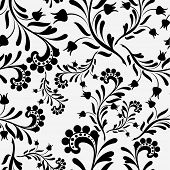 seamless old fashion wallpaper 01