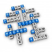 hacker attack  (blue-white cubes crossword series)