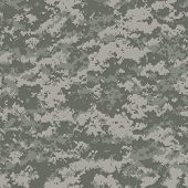 image of camo  - digital camouflage seamless patterns  - JPG