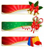 pic of polly  - Set of winter christmas banners - JPG