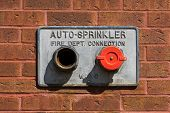 Fire Department Auto-sprinkler Pipes