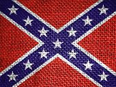 stock photo of civil war flags  - very big size confederate usa civil war flag - JPG