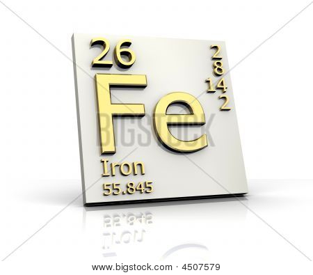 Iron Form Periodic Table Of