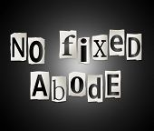No Fixed Abode.
