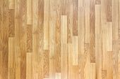 stock photo of woodgrain  - Seamless Oak laminate parquet floor texture background - JPG
