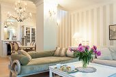stock photo of sofa  - Vintage mansion  - JPG