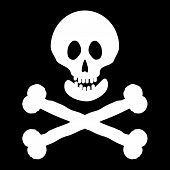 pic of rogue  - Jolly Roger flag - JPG