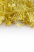 Gold Decoration For Christmas And New Year