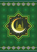 foto of malay  - Classic islamic graphic icon pattern illustration style - JPG