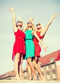 foto of hen party  - holidays and tourism - JPG