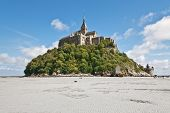 pic of michel  - View to Mount St Michel in Normandy France - JPG