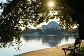 pic of thomas jefferson memorial  - Washington DC  - JPG