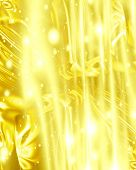 stock photo of gold glitter  - golden background with some smooth lines in it - JPG