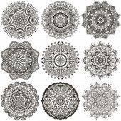 stock photo of decorative  - Mandala - JPG