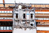 picture of abort  - one older office buildings will be demolished - JPG