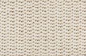 stock photo of knitting  - white knitted wool macro photo - JPG