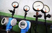 pic of thermal  - Manometers for pressure in a Thermal power station - JPG
