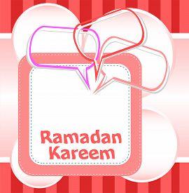 stock photo of ramadan calligraphy  - Arabic Islamic calligraphy of text Ramadan Kareem - JPG