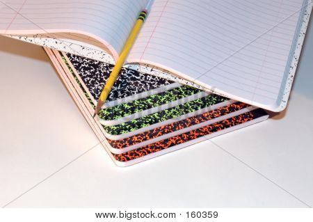 Composition Pads poster
