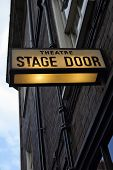 Theater Stage Door