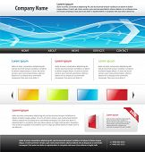 Web 2.0 Website Templates, Vektor.