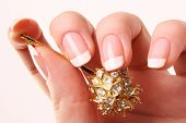 stock photo of nail salon  - woman - JPG