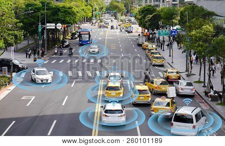Smart Car Selfdriving Mode Vehicle