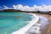 Beautiful tropical  beach in Baracoa, Guantanamo province, Cuba