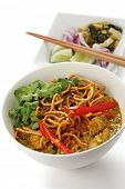 stock photo of thai food  - khao soi  - JPG