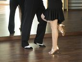Ballroom Dance Salsa Dancers poster