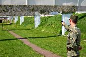 image of army cadets  - Shooting - JPG