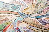 stock photo of indian money  - International Finance - JPG