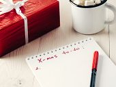 Christmas Gifts Shopping Planning List poster