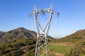 High Voltage Pylon Or High Voltage Tower poster