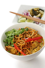 picture of thai food  - khao soi  - JPG