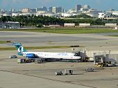 Air Tran Passenger Jet In Fort Lauderdale