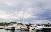 image of batangas  - Yachts and sailboats anchored in Batangas Philippines - JPG