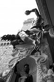 image of perseus  - View of Perseus monument in Florence - JPG