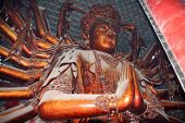 The Gigantic Statue Of Guanyin In Puning Temple, China