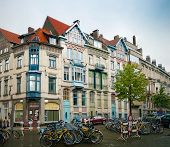 image of gents  - One of the Gent streeet view in Belgium - JPG