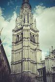 image of parador  - Toledo Cathedral facade - JPG