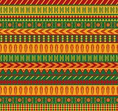 stock photo of mexican  - vector seamless pattern with traditional mexican elements - JPG