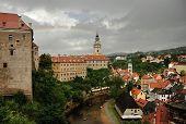 image of bohemia  - Beautiful historical town Cesky Krumlov in South Bohemia - JPG