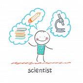Постер, плакат: scientist