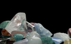 picture of calcite  - Gemstone margin - JPG