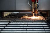 pic of plating  - Industrial cnc plasma cutting of metal plate - JPG